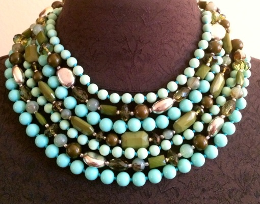 Make a statement! You are mint to have this one. Everyone will be green with  envy!