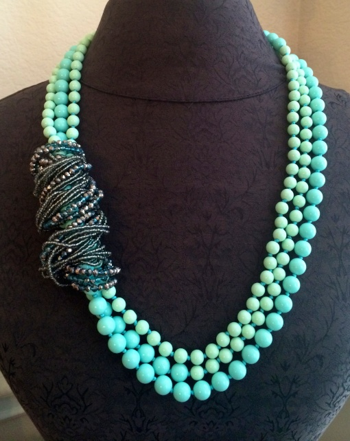 Mix two necklaces and the options are endless!